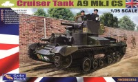 35GM0004 1/35  Cruiser Tank Mk. I CS, A9 Mk.ICS