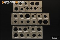 TEZ 034 1/35 WWII AFV Road Wheels Stenciling templates(for TAMIYA)(GP)