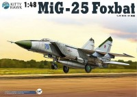 KH80119 1/48 MiG-25PD/PDS Foxbat E Kit First Look