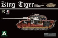 2046 1/35 King Tiger Sd.Kfz.182 PORSCHE TURRET w/ZIMMERIT