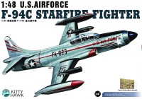 KH80101  F-94C Lockheed, Starfire - KITTY HAWK  1/48
