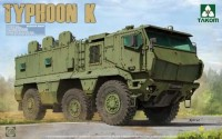 "2082 1/35 Russian MRAP KAMAZ-63968 ""Typhoon-K"" (with cab & cabin interior)"