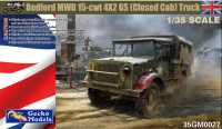 35GM0027 1/35 Bedford MWD 15-cwt 4x2 GS (closed cab) Truck
