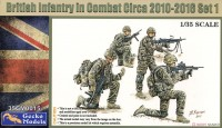 35GM0015 1/35 British Infantry in Combat circa 2010-2016 Set 1