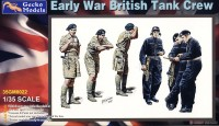 35GM0022 1/35 Early War British Tank Crew