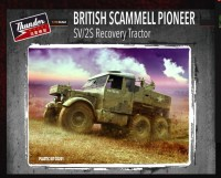 British Scammell Pioneer SV/2S recovery tractor TM35201 1/35