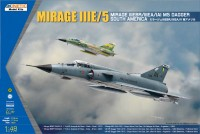 K48052 Mirage IIIE/5 South America in 1/48.