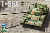 2056 1/35 Russian Medium Tank T-55A 3 in 1