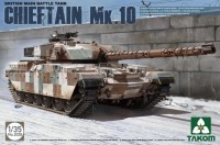 2028 1/35 British Main Battle Tank Chieftain Mk.10