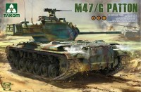 2070 1/35 US Medium Tank M47/G 2 in 1