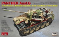 RM-5019 Panther Ausf.G with full interior & cut away parts & workable track links.
