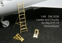 DM 2036 - 1:48 Ladder for MiG-21 for Trumpeter