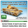 DD35013 1/35 Pz.IV Ausf.H late/ J early Zimmerit Decal set