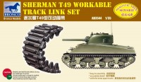 Bronco AB3544 1/35 Sherman T49 Workable Track