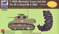 AB3552 1/35 T36 E6 Workable Track Set For M-5M/8