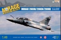 K48032  1/48 Dassault Mirage 2000B/N/D French Air Force