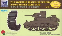 AB3553 1/35 T 16 Workable Track Set For M-3M/5