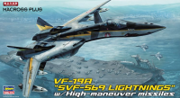 "65799 1/72 Macross Plus VF-19A ""SVF-569 Lightnings"" w/High-maneuver missiles Limited Edition"