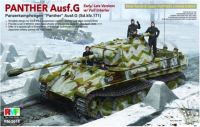 RM-5016 Rye Field 1:35 Model Panther Ausf.G w/Interior