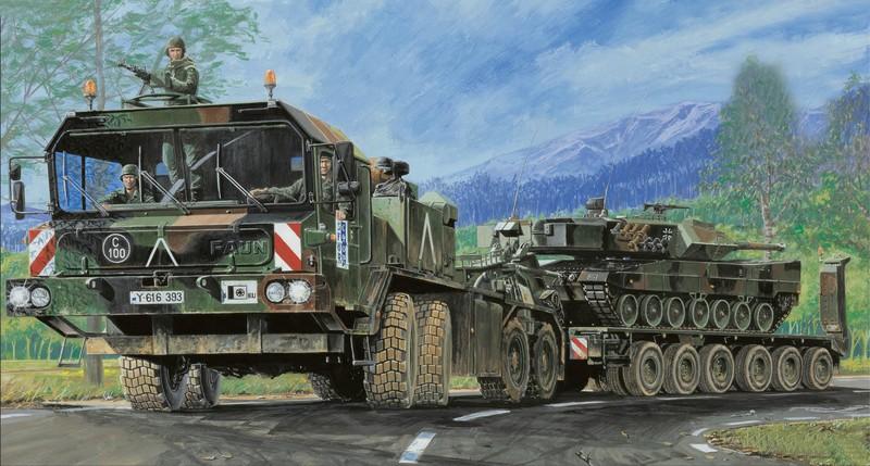 Trumpeter танковый транспортер фаун как сделать своими руками рольганг