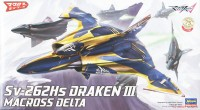 1/72 65728 Macross Sv-262Hs Devil Dragon 3 Commander Machine
