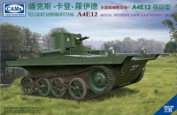 CV35003 1/35 VCL Light Amphibious Tank A4E12 Royal Netherlands East Indies Army