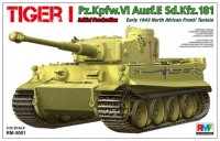 RM-5001 1/35 Tiger I Pz.Kpfw.VI Aust.E Sd.Kfz.181 Initial Production, early 1943 North African Front