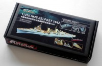 FH350117 1/350 WWII HMS Belfast 1942 (For Trumpeter 05334)
