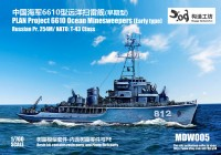 NDW005 1/700 PLA type 6610 Minesweeper (254M/T-43) early
