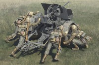 84418 1/35 German 20mm Flak 38 early with WSS crews