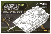 UA-60003 1/144  US Army M60 Patton MBT