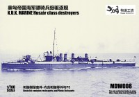 MDW008 1/700 AUSTRIA-HUNGARY Huszar class destroyer