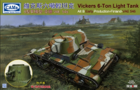 CV35A008 1/35 Vickers 6-Ton light tank Alt B Early Production-Finland-VAE 546 (with interior) 2 in 1
