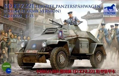 Bronco Models CB35013 Sdkfz 221 Armored Car in 1:35