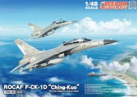 "18006 1/48 F-CK-1 D ""CHING-KUO"" , TWO SEATS FIGHTER ( STD VER)"